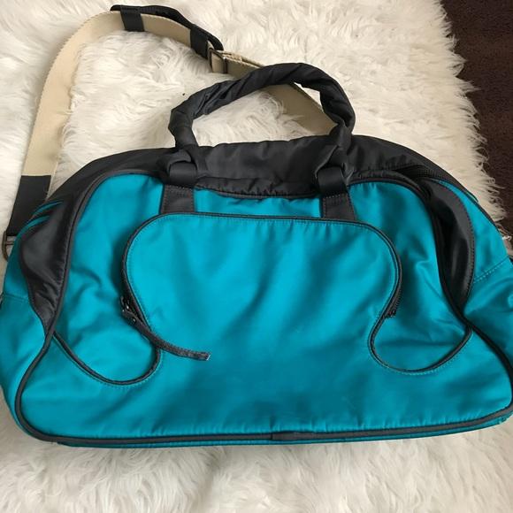 7fd5bd11f lululemon athletica Bags | Lululemon Teal Duffle Bag | Poshmark